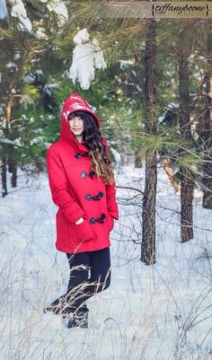 Winter Snow Portrait Session