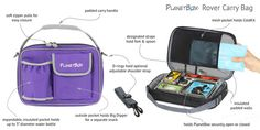 #PlanetBox Rover - Complete Kit Includes: lunchbox, magnets, dipper set & carry bag - #GreenIsUniversal #EarthWeek