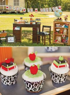 """Back to school """"Book Worm Bash"""" and millions of other amazing ideas. This party idea blog is awesome!!"""