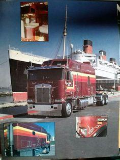 Semi Trucks, Big Trucks, Cab Over, Kenworth Trucks, Classic Trucks, Glen Rice, Vehicles, Big Boys, Usa