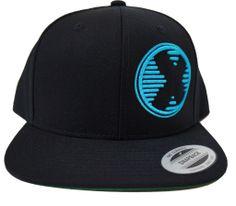 0b7502cda98 CrossFit  Big X  Snapback Hat - Project X Blue on Black