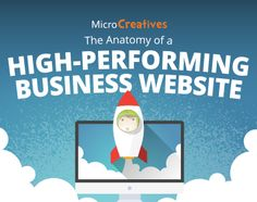 Create a high-performing business website, with the help of this infographic. Business Website, The Help, Infographic, Create, Infographics, Visual Schedules