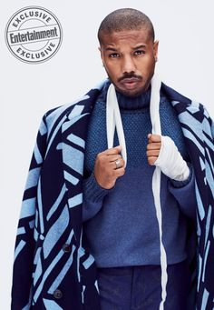 See gorgeous photos of 'Creed II' stars Michael B. Jordan and Tessa Thompson from EW's cover shoot Tessa Thompson Creed, Michael Bakari Jordan, Man Thing Marvel, Black Is Beautiful, Dapper, Black Men, Actors & Actresses, Sexy Men, How To Look Better