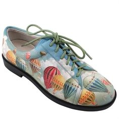 """""""Balloons in Paris"""" icon shoes Icon Shoes, Icon Collection, Painted Shoes, Cleats, Balloons, Collections, Paris, Boots, Sneakers"""