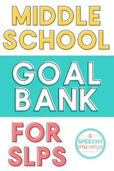 A growing goal bank