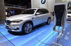 BMW X5 eDrive Concept is utilitarian plug-in hybrid
