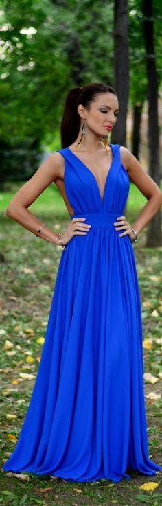Blue Moon Dress / Fashion By My Silk Fairytale