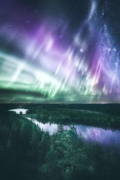 IMAGE: Northern lights over Tundra landscape Beautiful Sky, Beautiful Landscapes, Beautiful Places, All Nature, Science And Nature, Aurora Borealis, Landscape Photography, Nature Photography, Scenic Photography