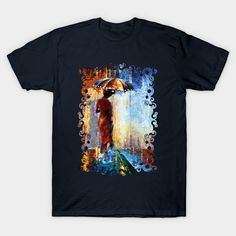 Mary the Lady rain Unisex T-Shirt #teepublic #tee #tshirt #clothing #marrypoppins #umbrellagirl #umbrella #nanny #marypoppins #halloween #10thdoctor #fog #mistvan-gogh #starrynight #starrynight #nannymcphee #thefog #art #abstract