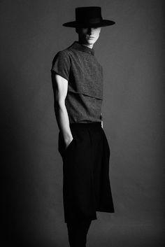 I love that bold artistic minimalist look Strateas Carlucci SS14 -