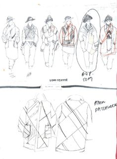 Fashion Sketchbook - fashion design sketches; creative process; fashion portfolio // Lori Stayte