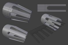 FAQ: How u model dem shapes? Hands-on mini-tuts for mechanical sub-d AKA ADD MORE GEO - Page 127 - Polycount Forum