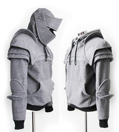 Duncan Armored Knight Hoodie100 Handmade Made To by iamknight, $198.00