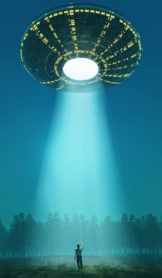 A UFO being summoned