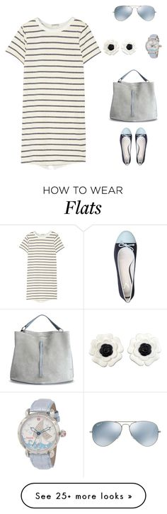"""""""Untitled #1630"""" by bushphawan on Polyvore featuring Clu, Maison Margiela, Ray-Ban, Michele and Chanel"""