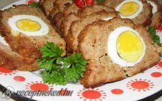 Stefánia vagdalt recept fotóval Mashed Potatoes, Ale, Pork, Eggs, Meat, Breakfast, Ethnic Recipes, Whipped Potatoes, Pork Roulade