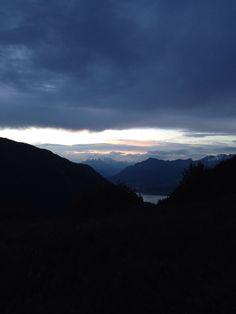 Foto dal Pizzoc verso l'Alpago