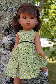 18 Inch Doll, Diy Doll, Free Crochet, American Girl, Doll Clothes, Barbie, Flower Girl Dresses, Summer Dresses, Sewing