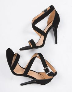 8d2a0cb702 Criss Cross Strappy Heels Black Strappy Sandals Heels, Red High Heels, Nude  Shoes,
