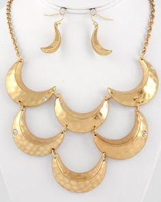 Golden Moon #fashion #accessories