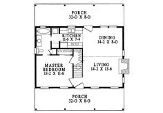Great Country Cottage - 6223V   Cottage, Country, Narrow Lot, 1st Floor Master Suite, CAD Available, PDF   Architectural Designs