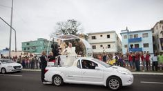 Pope Francis begins a nine-day tour of Cuba and the United States on Saturday where he will see both the benefits and complexities of a fast-evolving detente between the old Cold War foes that he helped broker. Better sensitized to the issue than predecessors because of his Latin American roots, the 78-year-old Argentine pontiff facilitated a back channel for talks and sent missives to Presidents Raul Castro and Barack Obama in 2014. REUTERS/Alexandre Meneghini