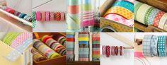 素敵に飾る!マスキングテープの収納アイデア Washi Tape, Art Supplies, Garland, Diy And Crafts, Garlands, Floral Crowns