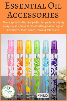 Aren't these ADORABLE? These spray bottles are perfect for perfumes, body sprays, ouie sprays & more!! Also great for sign up incentives, team prizes, make & takes, etc.