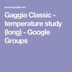 Gaggia Classic - temperature study (long) - Google Groups