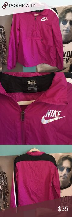 NWOT Nike windbreaker Brand new! this color is beautiful and it's a perfect lightweight jacket! bundle 3+ items for a 10% discount and let me know if I can help you with anything! :) Nike Jackets & Coats