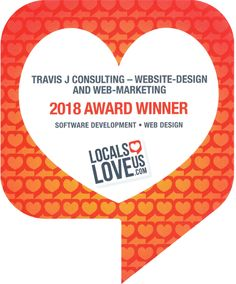 """Travis J Consulting awarded *1st-Place* in Web-Design category, in """"Locals Love Us - Tyler""""  ☺  So what that means is, if the place you work, or, you know, you got a family-member or friend who runs a business and needs help with their website or Web-Presence or whatever—send them my way:  www.travisjconsulting.com  #travisjconsulting #travisj #webdesign #websitedesign #socialmedia #searchengineoptimization #seo #webpresence #tylertx #tylertexas #tyler #tx #texas"""
