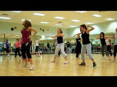 Zumba Rock that Body...nice 'robots' there at the end...