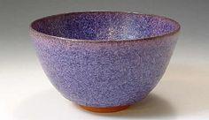 purple chawan (japanese tea bowl)