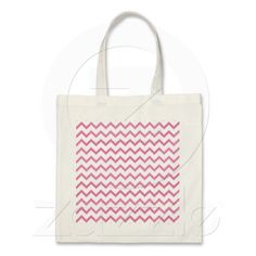 zigzag triangle geometric pattern soft pink tote bags