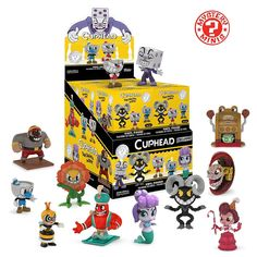 The Cuphead Mystery Minis. Your favorite Walking Dead characters have been given the Funko Mystery Mini treatment! These 3 inch blind box figures are perfect for fans and collectors alike. Check out the other Cuphead figures from Funko! Funko Figures, Vinyl Figures, Walking Dead Characters, Funko Mystery Minis, Sci Fi Series, Mini Blinds, Captain America Civil War, Mini One, Display Boxes