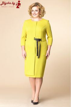 Платье женское RN-1-1560-2 Dress Paterns, Arabic Dress, Designs For Dresses, Mom Dress, Mothers Dresses, Office Outfits, Well Dressed, Plus Size Outfits, Plus Size Fashion