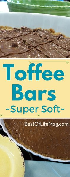 Are you ready for the easiest and most delicious toffee bar recipe you will ever find? This recipe is a favorite for many in our family and has been made for many generations coming from my great-great grandma. My grandma, mother, myself, and now our children absolutely LOVE this recipe and request it for birthdays and every time my mom visits. This toffee bar recipe is super soft and a guaranteed hit for everyone in the family!