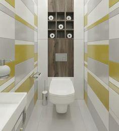 Small Bathroom, Tiny Bathrooms, Modern Bathroom, House, Toilet, Home, Powder Room, Modern, Modern Bathroom Design