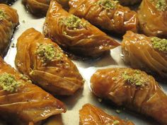 Visit the post for more. Greek Sweets, Greek Desserts, Greek Recipes, Desert Recipes, Greek Pastries, Sweets Cake, Middle Eastern Recipes, International Recipes, Sweet Tooth