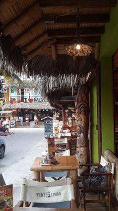Restobar at montañita, Ruta del Sol. Ecuador