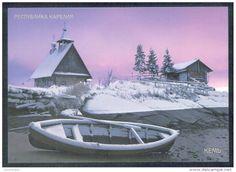 Karelia  Russia boat