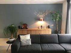 Denim Drift woonkamer kleur muurverf