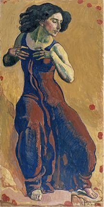 ≪恍惚とした女≫ 1911年 ジュネーヴ美術・歴史博物館 cMusée d' art et d' histoire, Ville de Genève c Photo : Bettina Jacot-Descombes