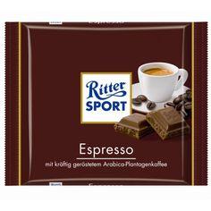 RITTER SPORT Espresso   Schokolade  DIE IST GEIL!!!!!!