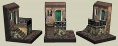 Old House In Olaria Paper Model - by Papermau - Next Project