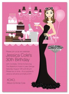 35th Birthday Party Invitations Choice Image Invitation Design Ideas