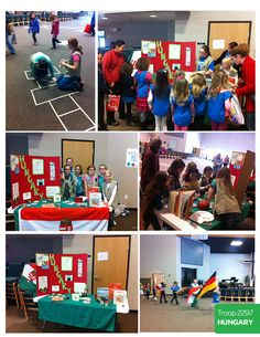 This year our Service Unit hosted a World Thinking Day and asked each troop to host a country.  My troop hosted Hungary.
