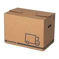 JÄTTENE, Packaging box, brown