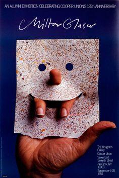 Milton Glaser • Cooper Union, 125th Anniversary, 1984
