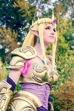 Omg perfect Zelda.